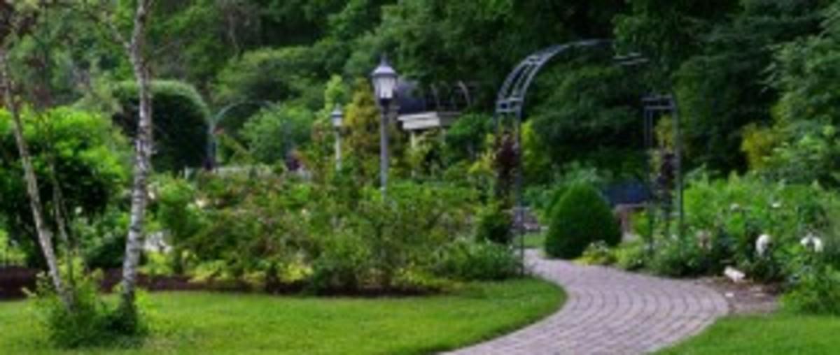Entrance to the the Victorian Garden