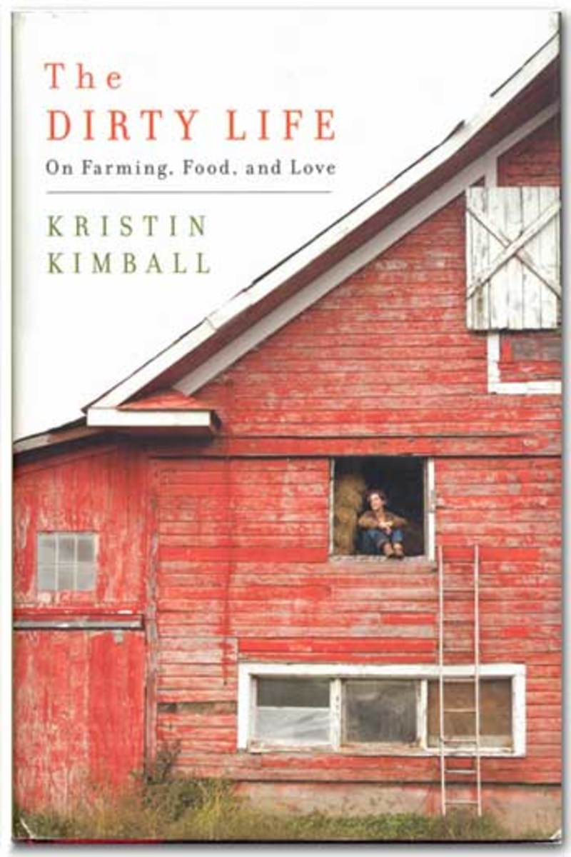 The cover of Kristin Kimball's Memoir, The Dirty Life