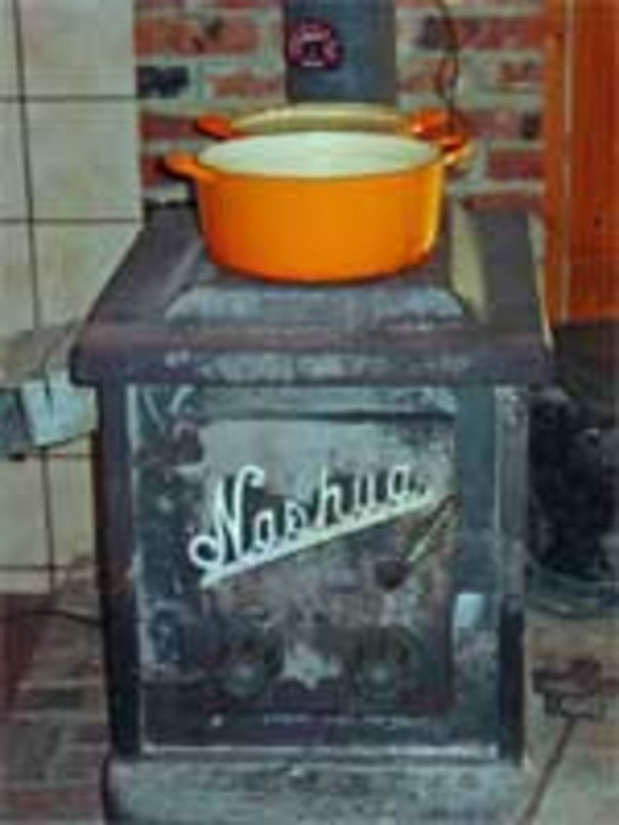 boiling syrup