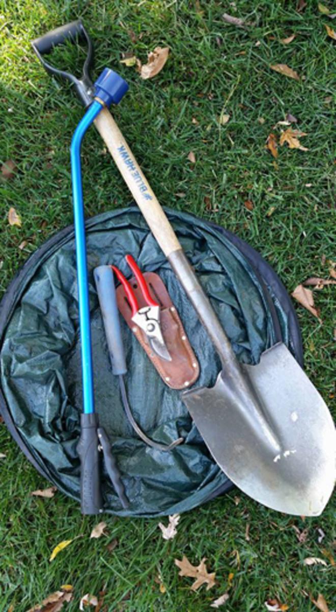 garden tools Landless Gardener