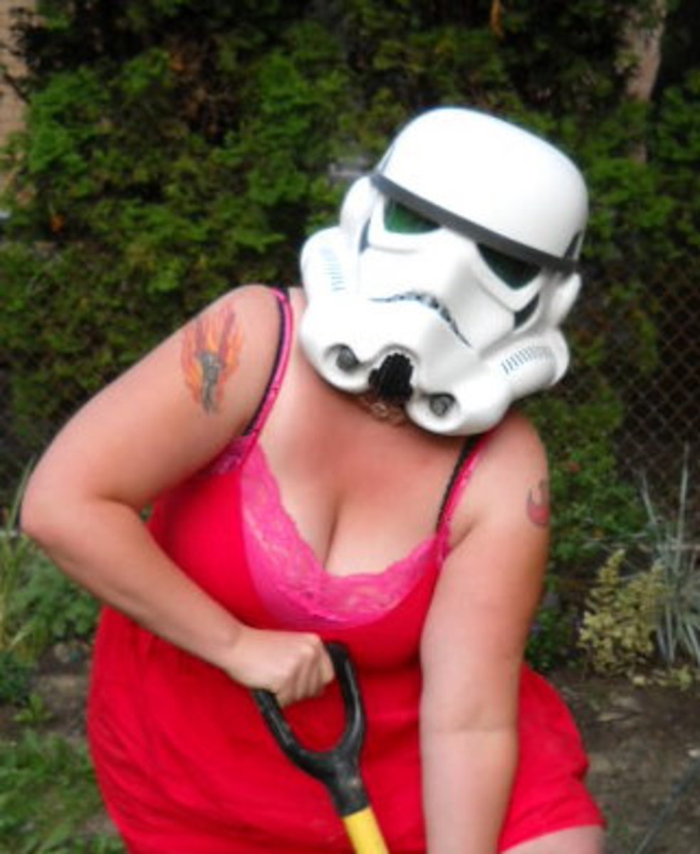 Aren't you a little chesty for a Stormtrooper?