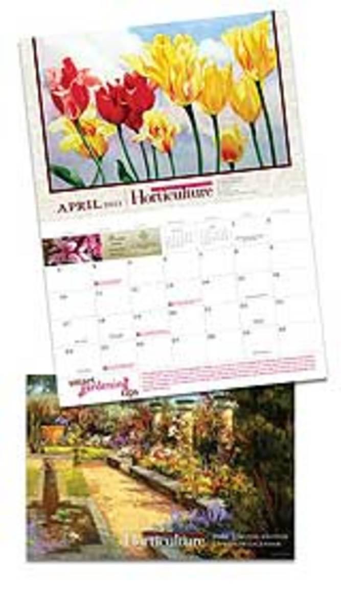 2011 Horticulture Wall Calendar