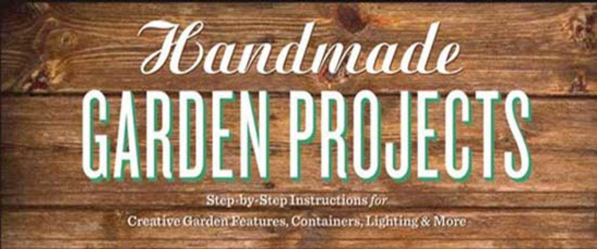 Cover of Handmade Garden Projects by Lorene Forkner