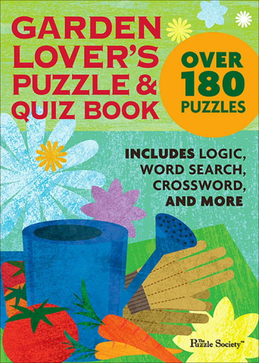 Garden Lover's Puzzle & Quiz Book