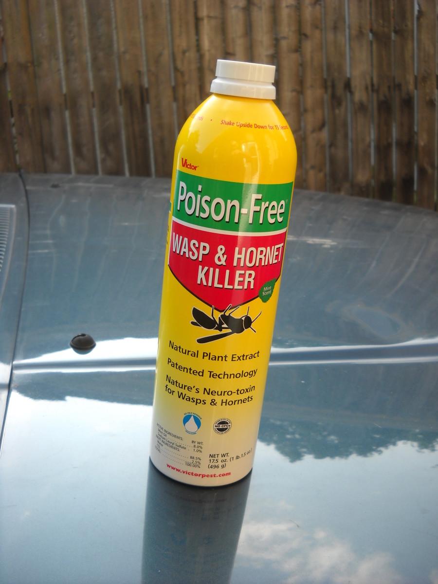 Organic Hornet Spray
