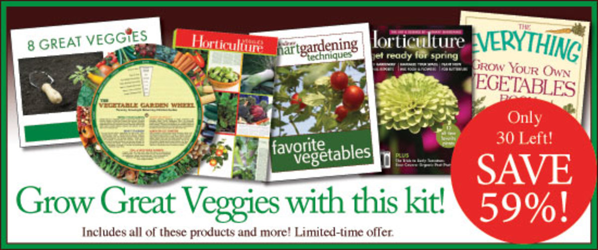Save 59% with the May Smart Gardening Value Pack - Grow Great Veggies