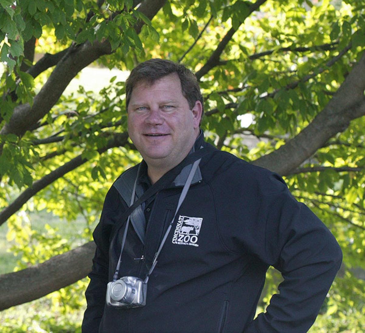 Steve Foltz, Director of Horticulture for the Cincinnati Zoo & Botanical Garden.